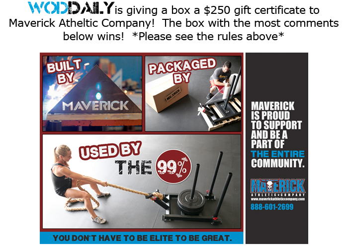 wodDaily - Support Your Box!